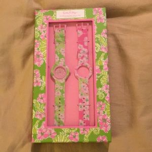New Lilly Pulitzer watch set in box